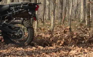 Triumph Tiger 800XC traction