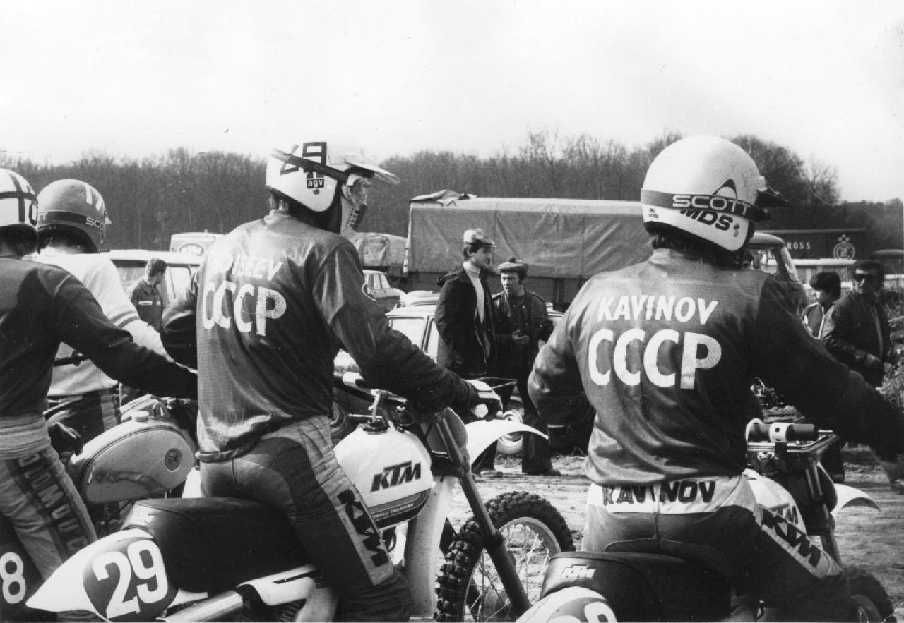 Dirt bikes in USSR